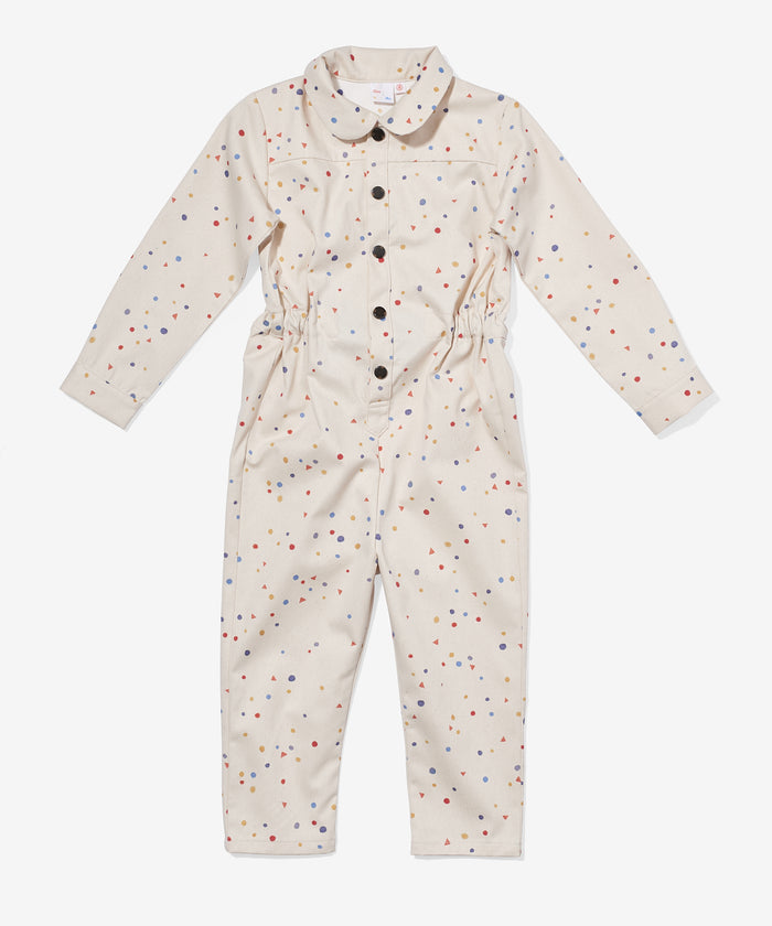Bennie Jumpsuit, Signature Dot