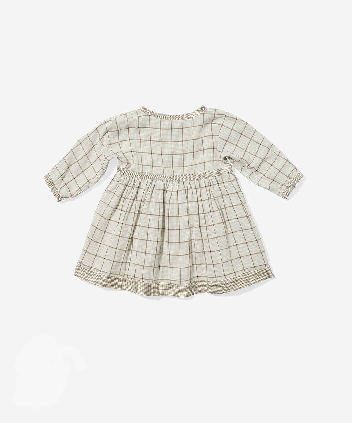 Cecil Baby Dress, Tan