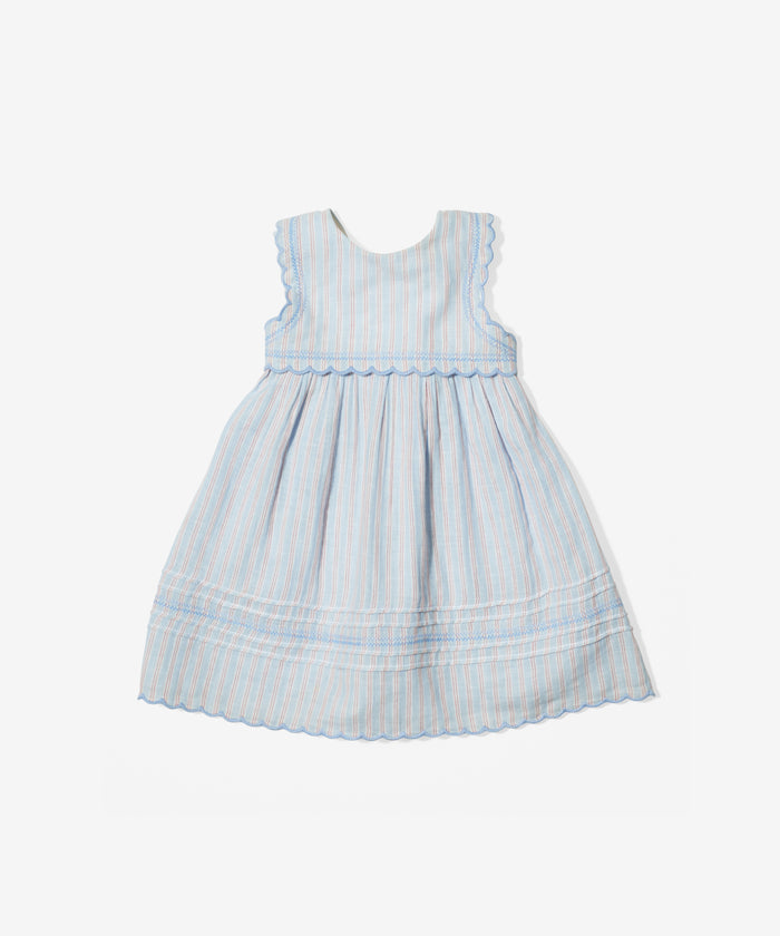 Claire Dress, Signature Stripe