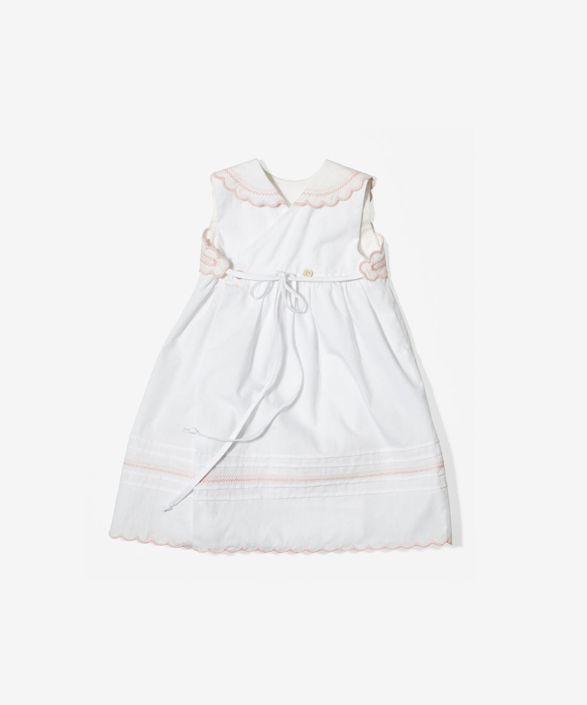 Claire Dress, White