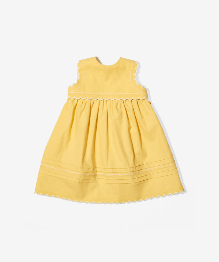 Claire Dress, Yellow