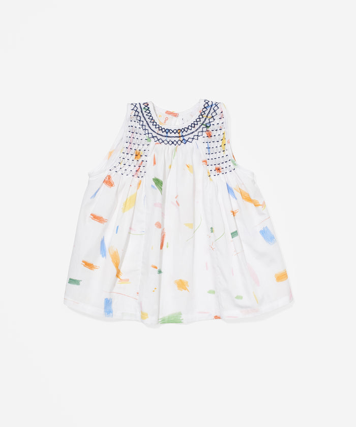 Dot Baby Dress, Doodle