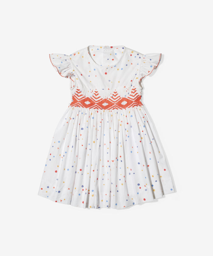 Betty Dress, Signature Dot
