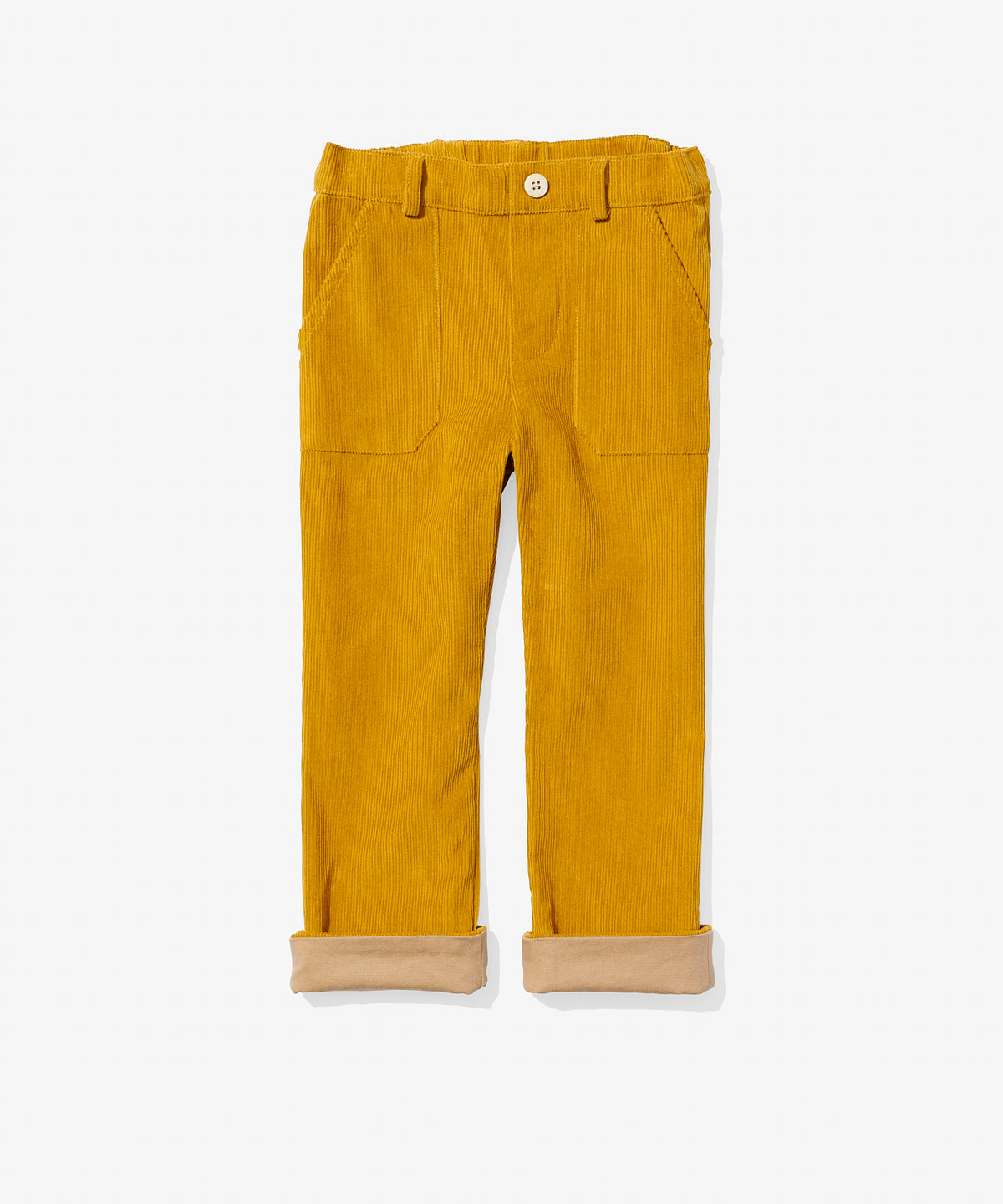 Faux Pant, Mustard Cord