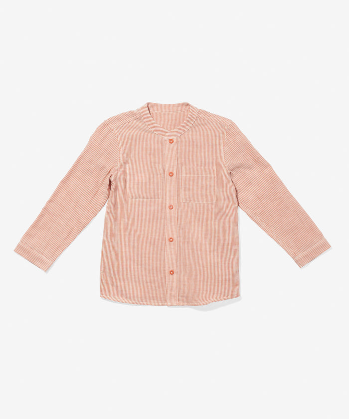 Jack Lee Shirt, Melon Stripe