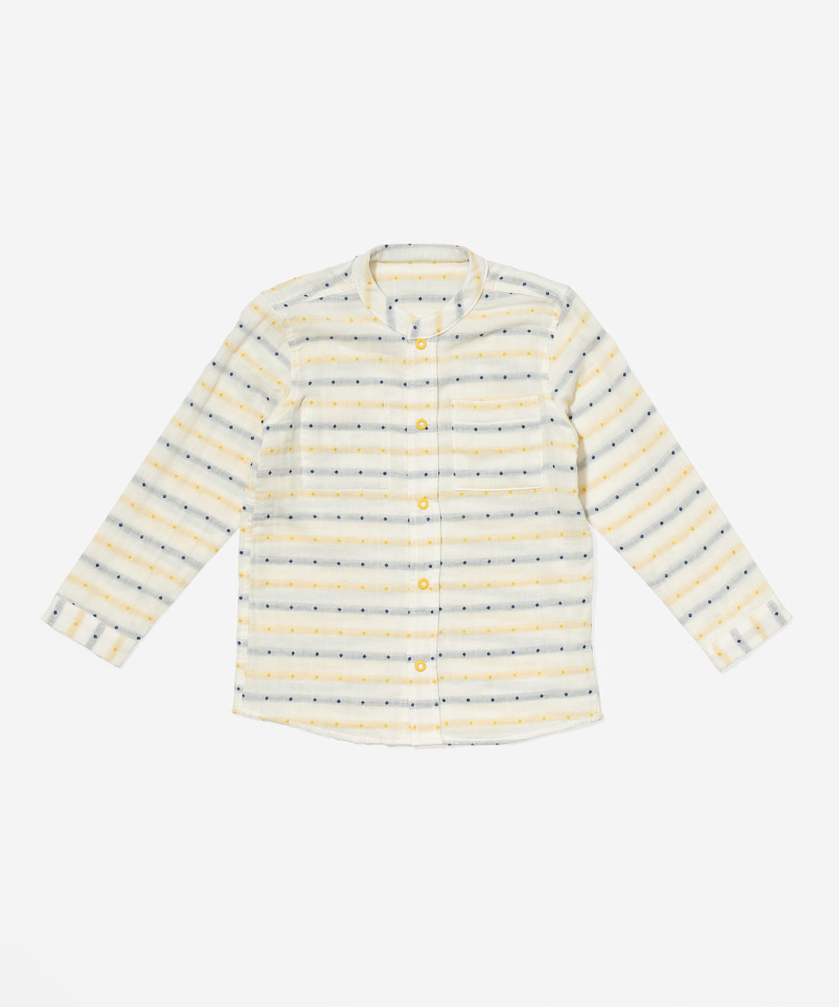 Jack Lee Shirt, Yellow Stripe