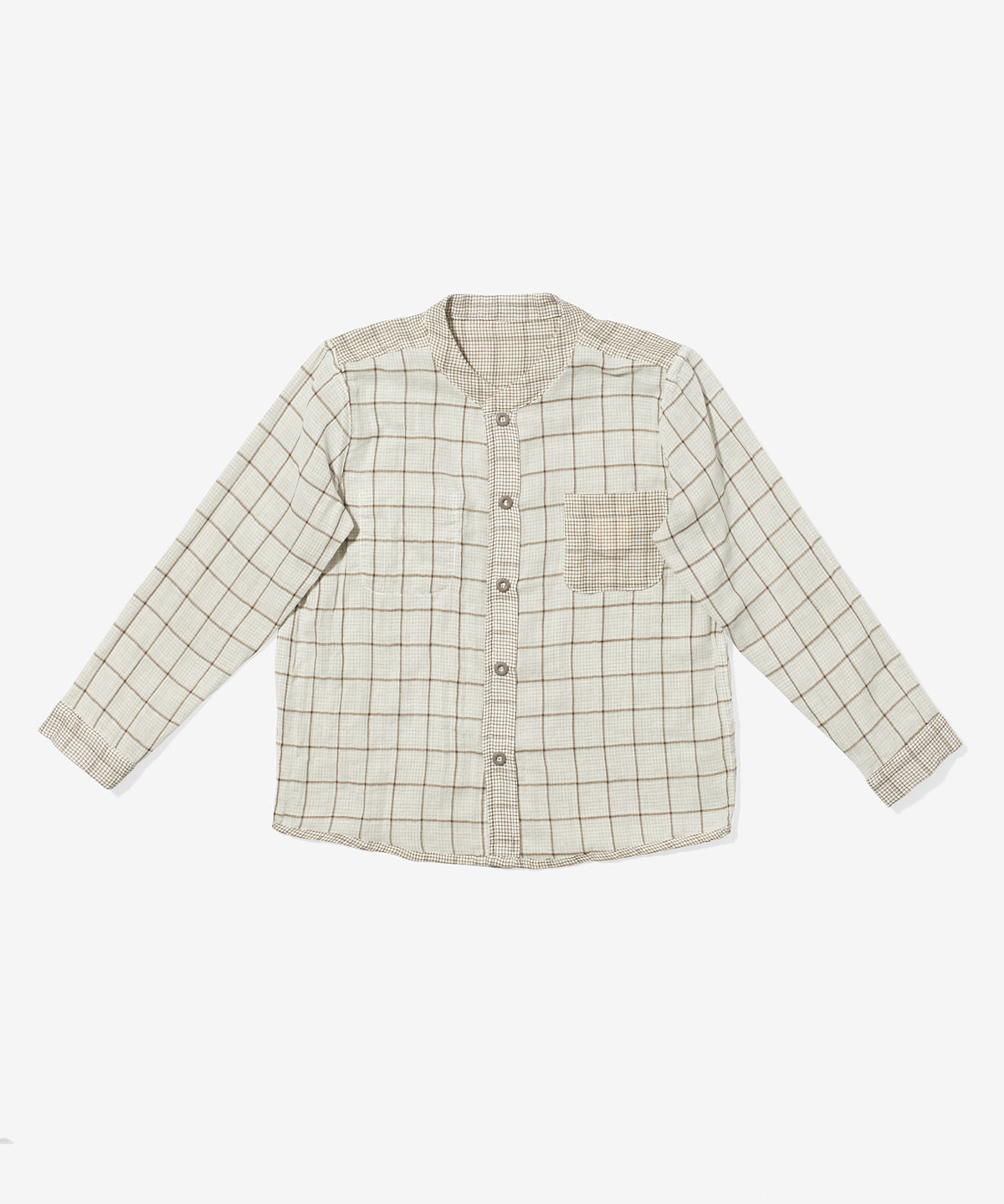 Jack Lee Shirt, Tan Plaid