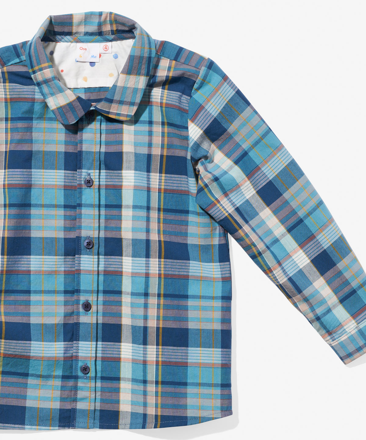 Jefferson Shirt, Madras