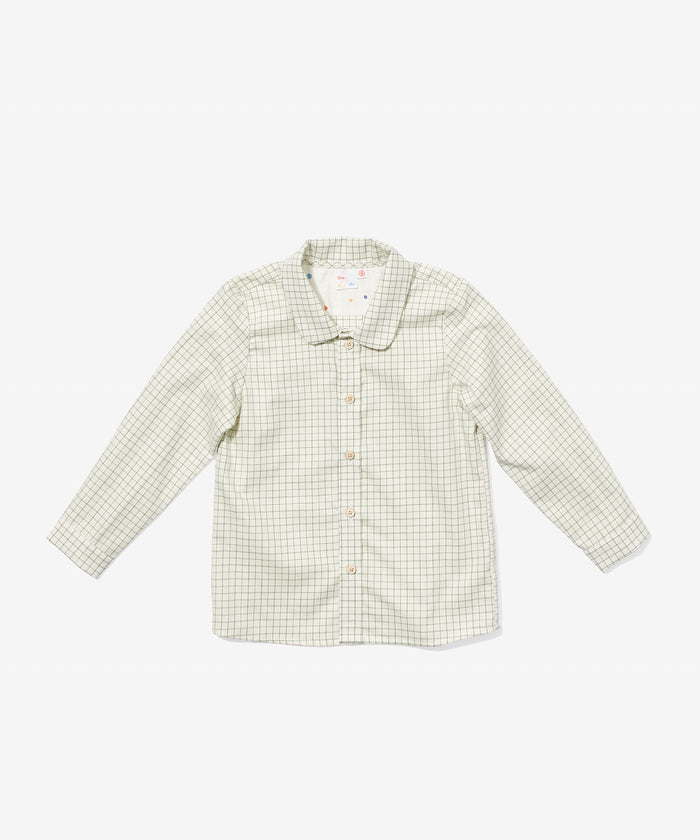 Jefferson Shirt, Green Tattersall