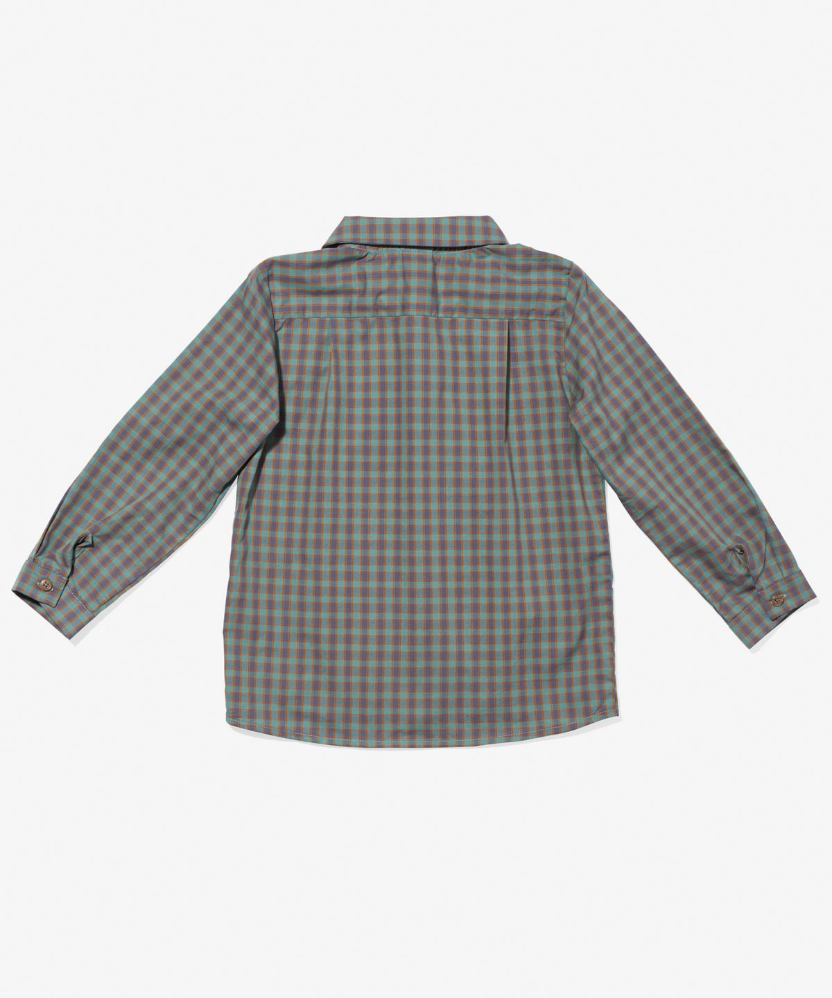 Jefferson Shirt, Seafoam Plaid