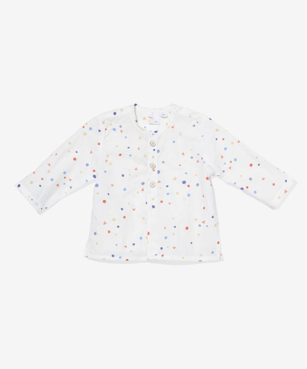 Lupo Baby Shirt, Signature Dot