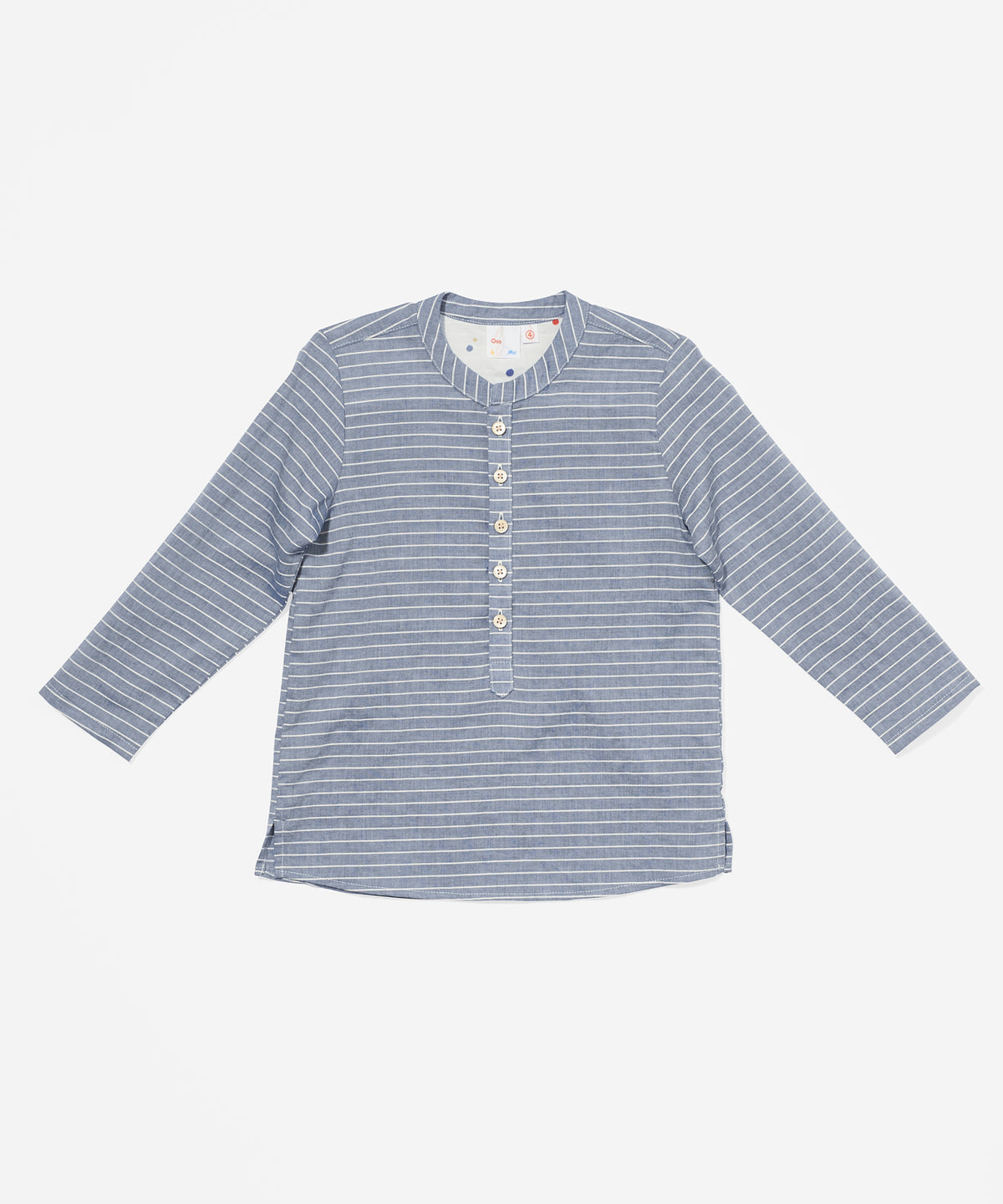 Lupo Shirt, Chambray Stripe