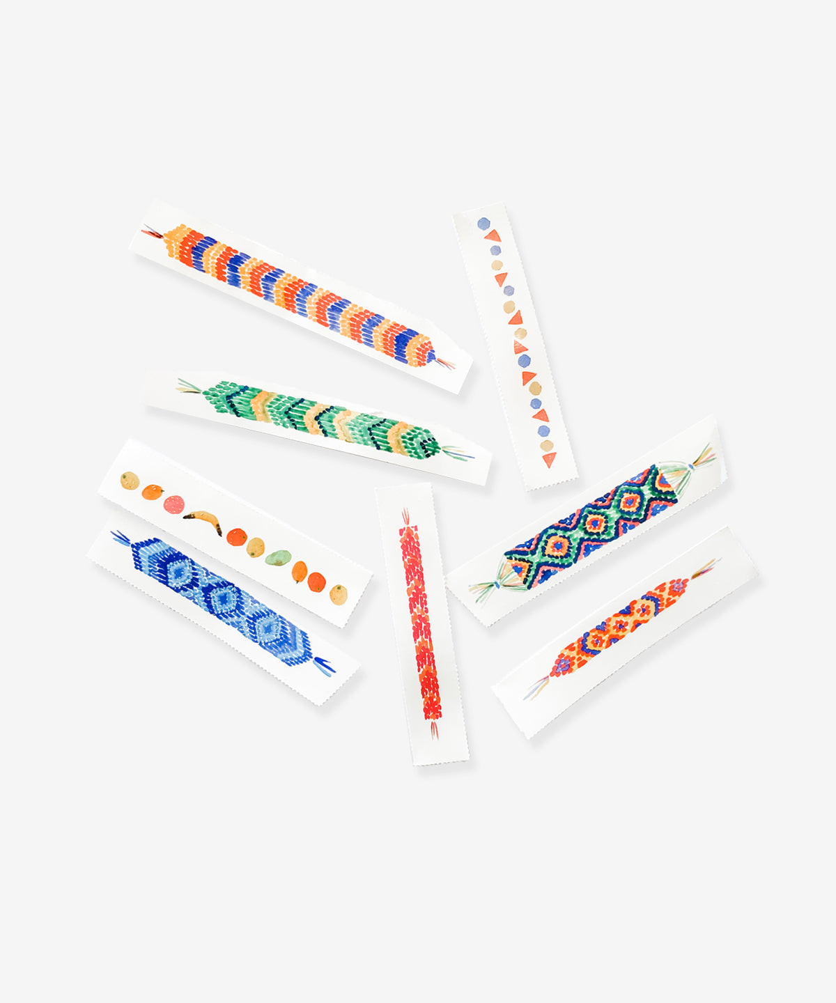 Temporary Tattoo Set, Friendship Bracelets