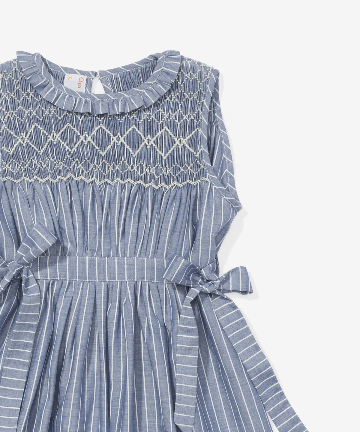 Nora Dress, Chambray Stripe