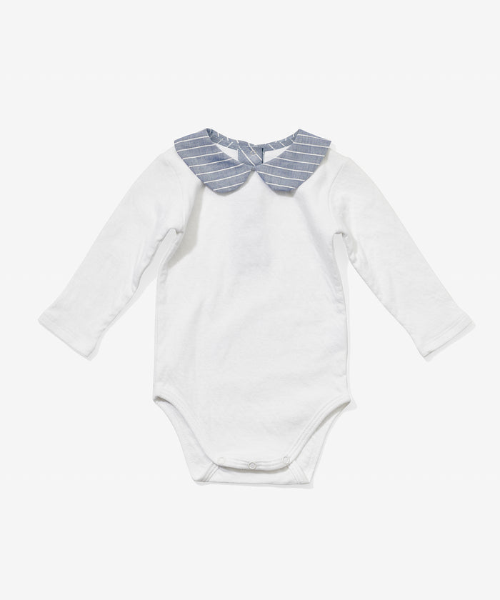 Peter Pan Onesie, Corded Stripe