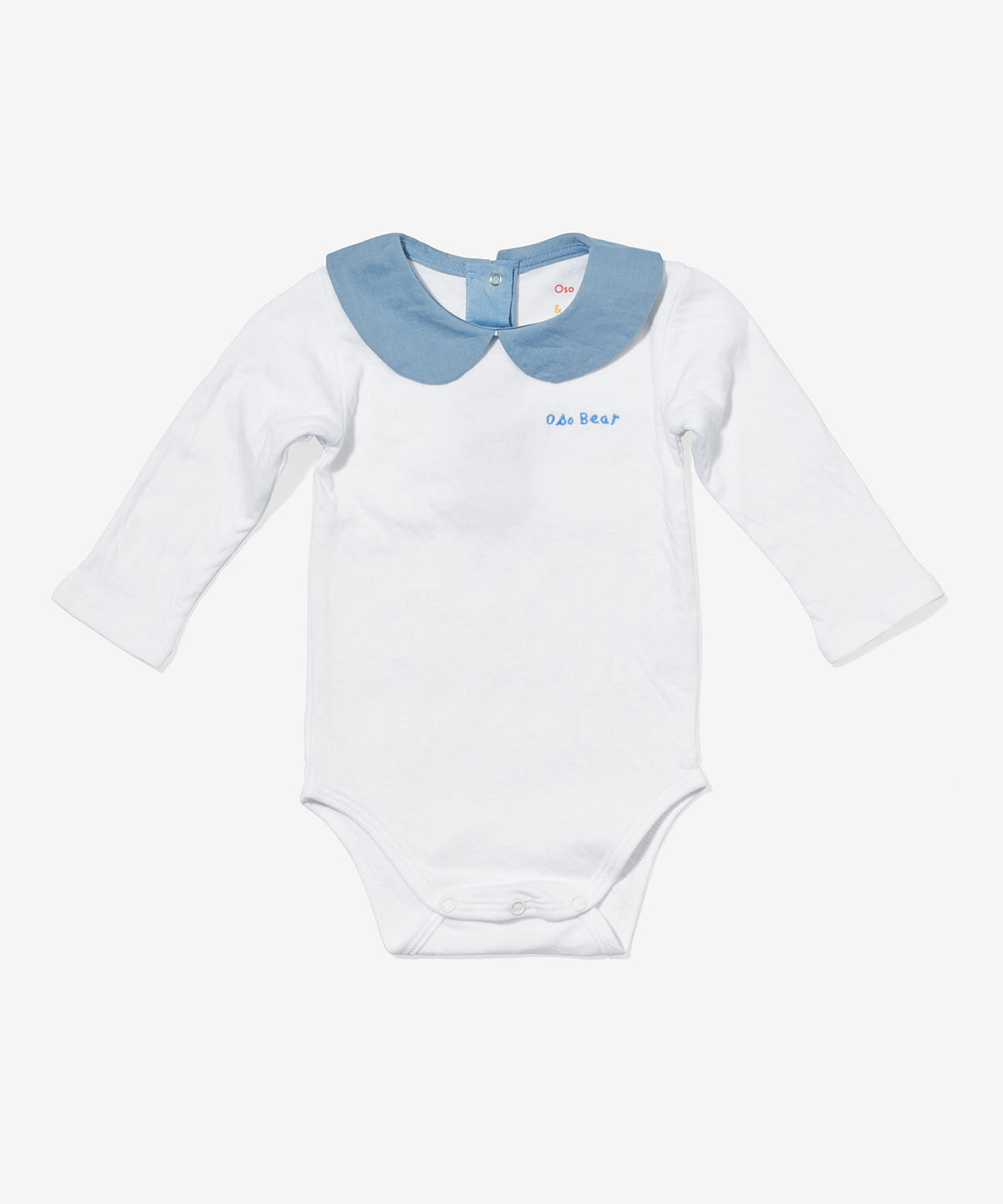 Peter Pan Onesie, Chambray