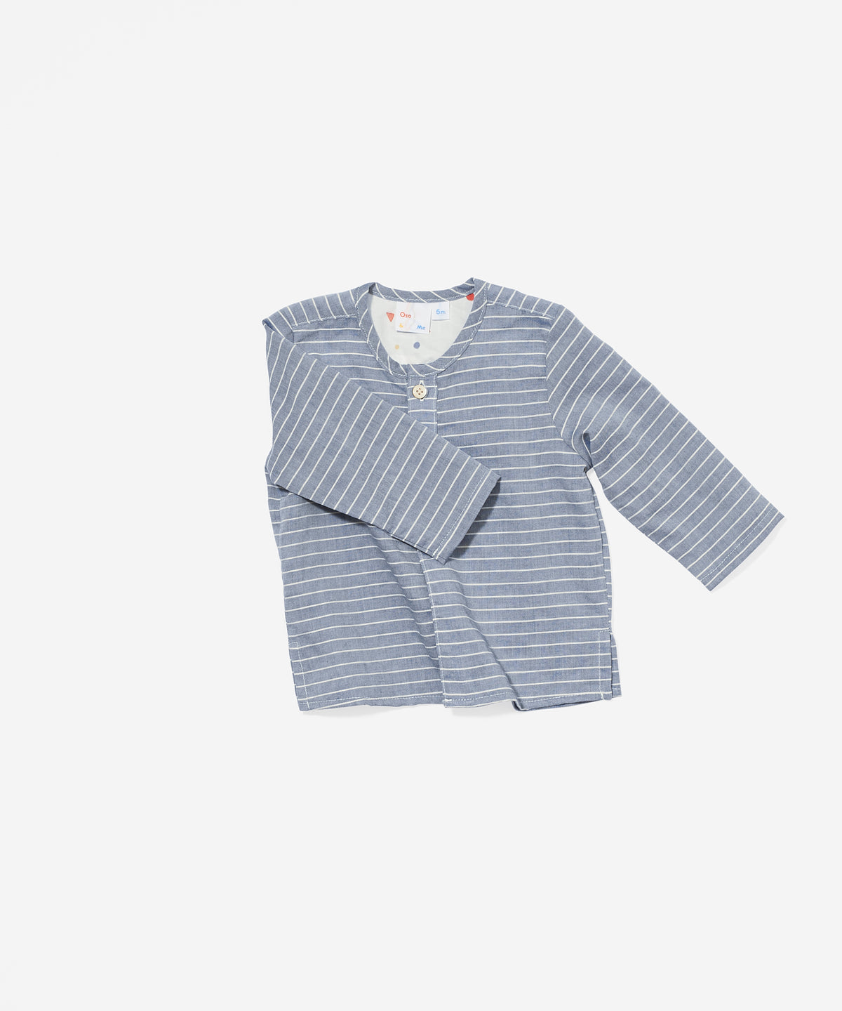 Quinn Shirt, Chambray Stripe