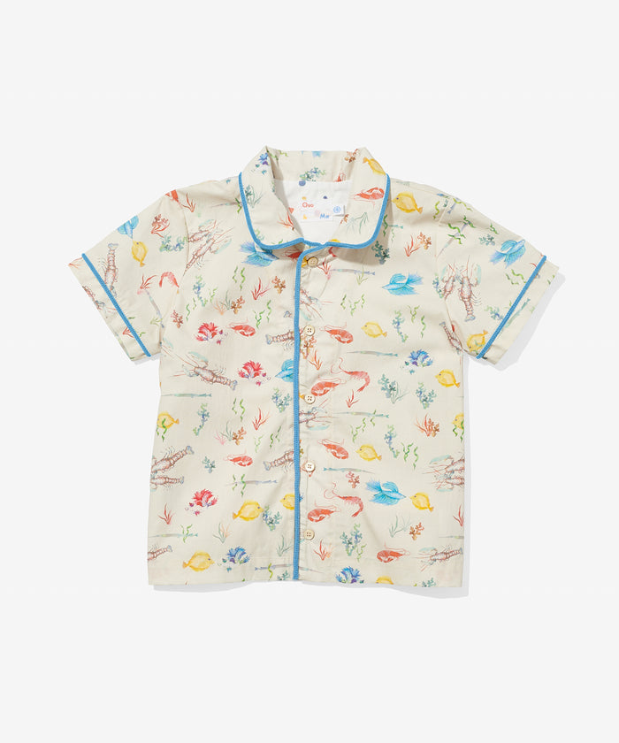 Robinson Shirt, Fish Kiss