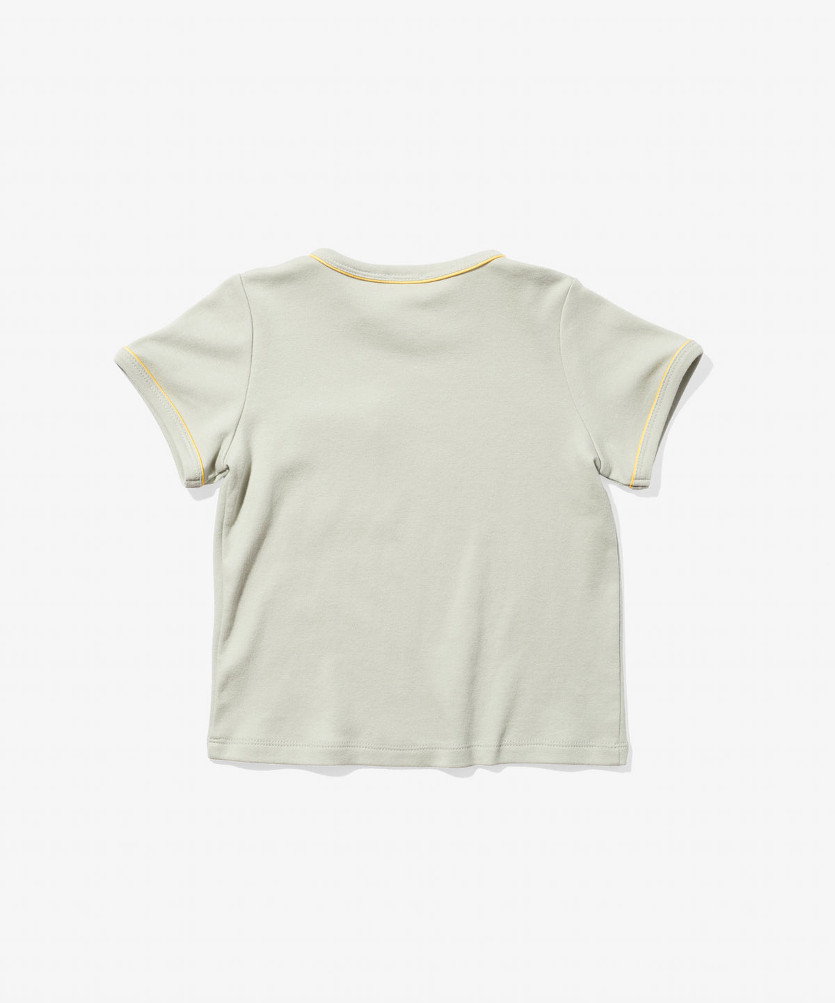 Piped T-Shirt, Grey