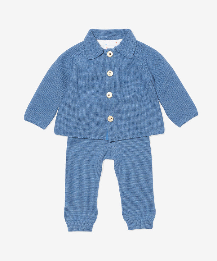 Graham Twinset, Blue
