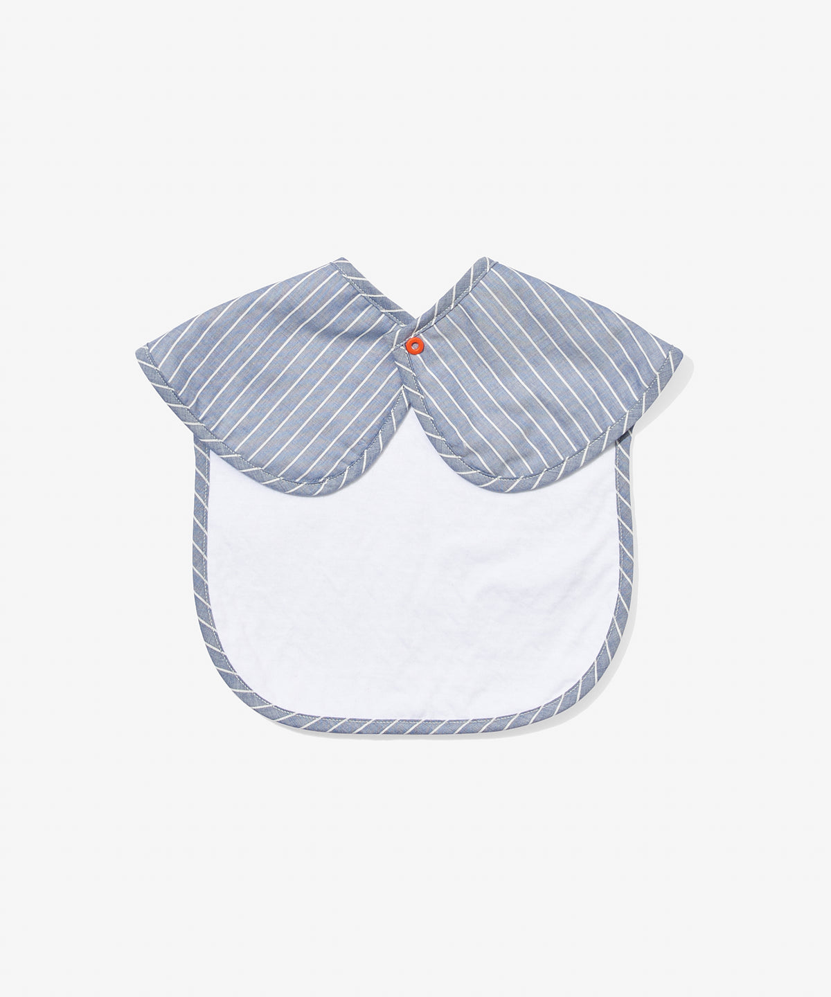 Waterproof Bib, Chambray Stripe