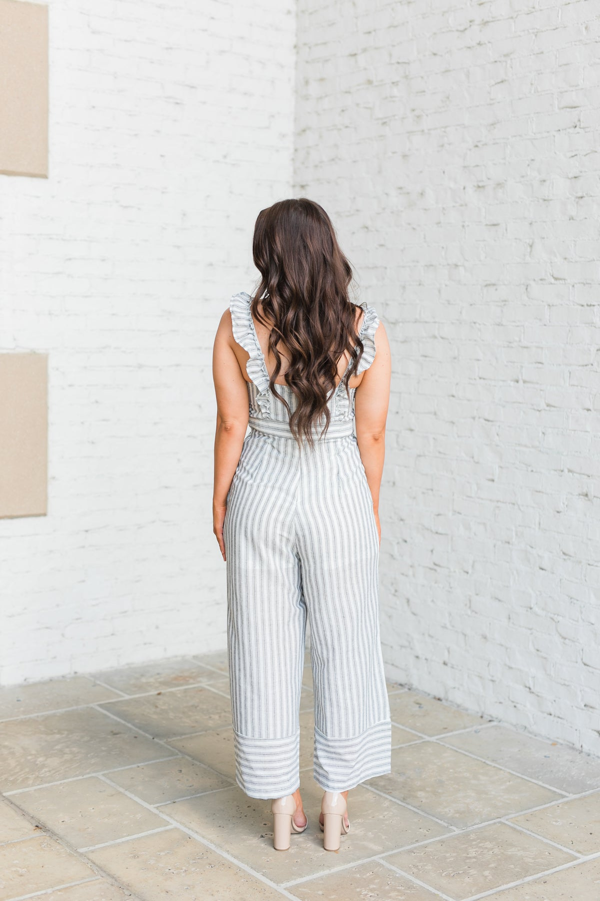 Summer Loving Striped Jumpsuit
