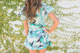 Tropical Ruffle Shorts