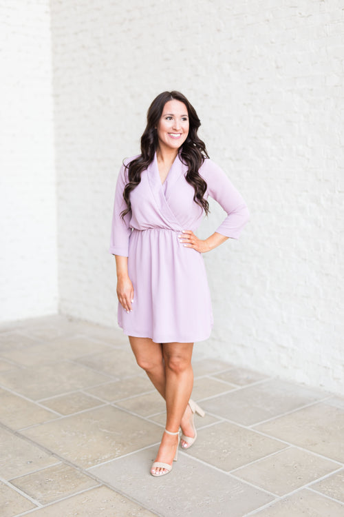 Endless Possibilities Dress-Mauve