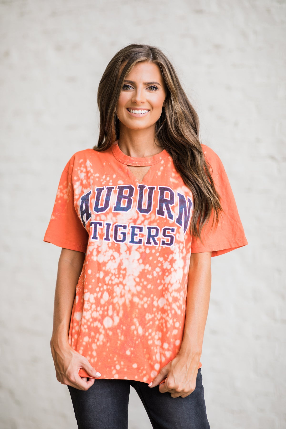 Vintage Auburn Tigers Tee Orange #1