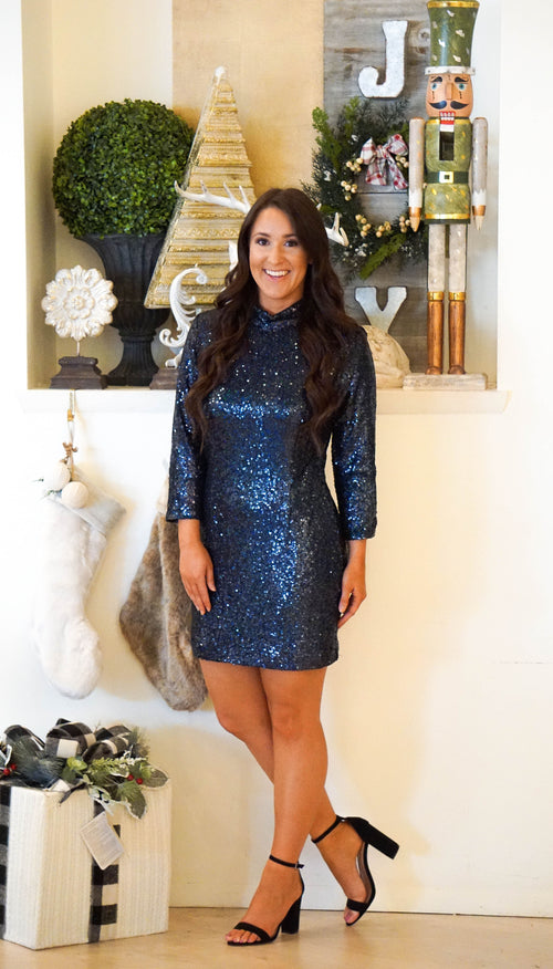 Light Of The Night Sequin Dress
