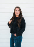 Deliciously Soft Sweater-Black