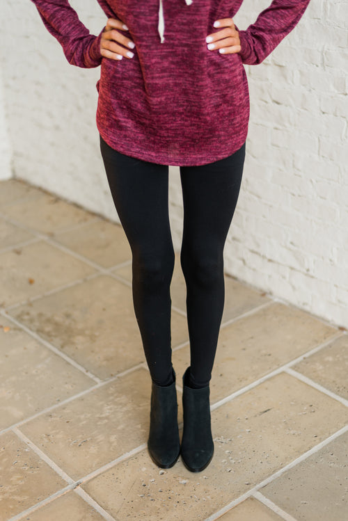 Seamless Leggings-Black