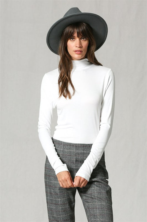 The Perfect Layering Turtle Neck - Ivory