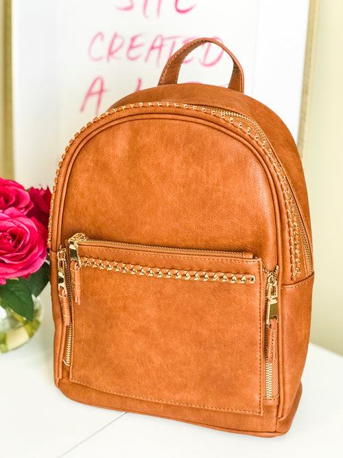 On The Move BackPack - Tan