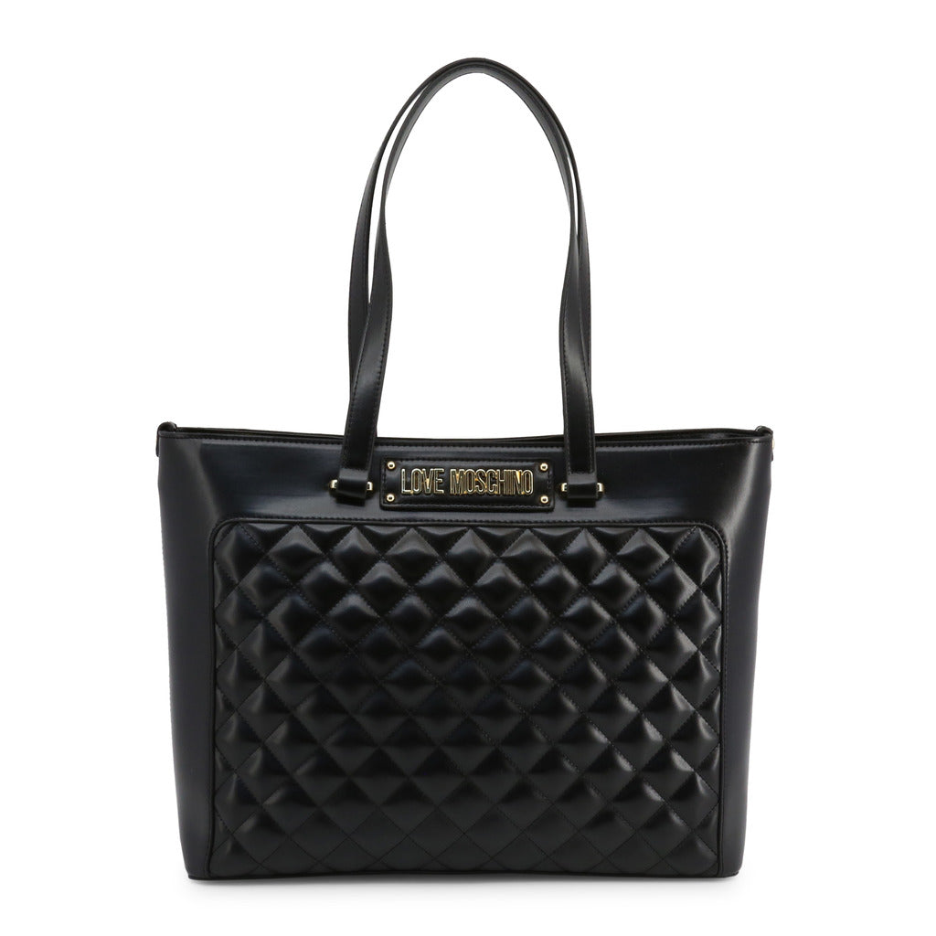 Love Moschino - JC4003PP18LA-Bags Shopping bags-Love Moschino-Shopping Bags for Women-Ideo Q LLC