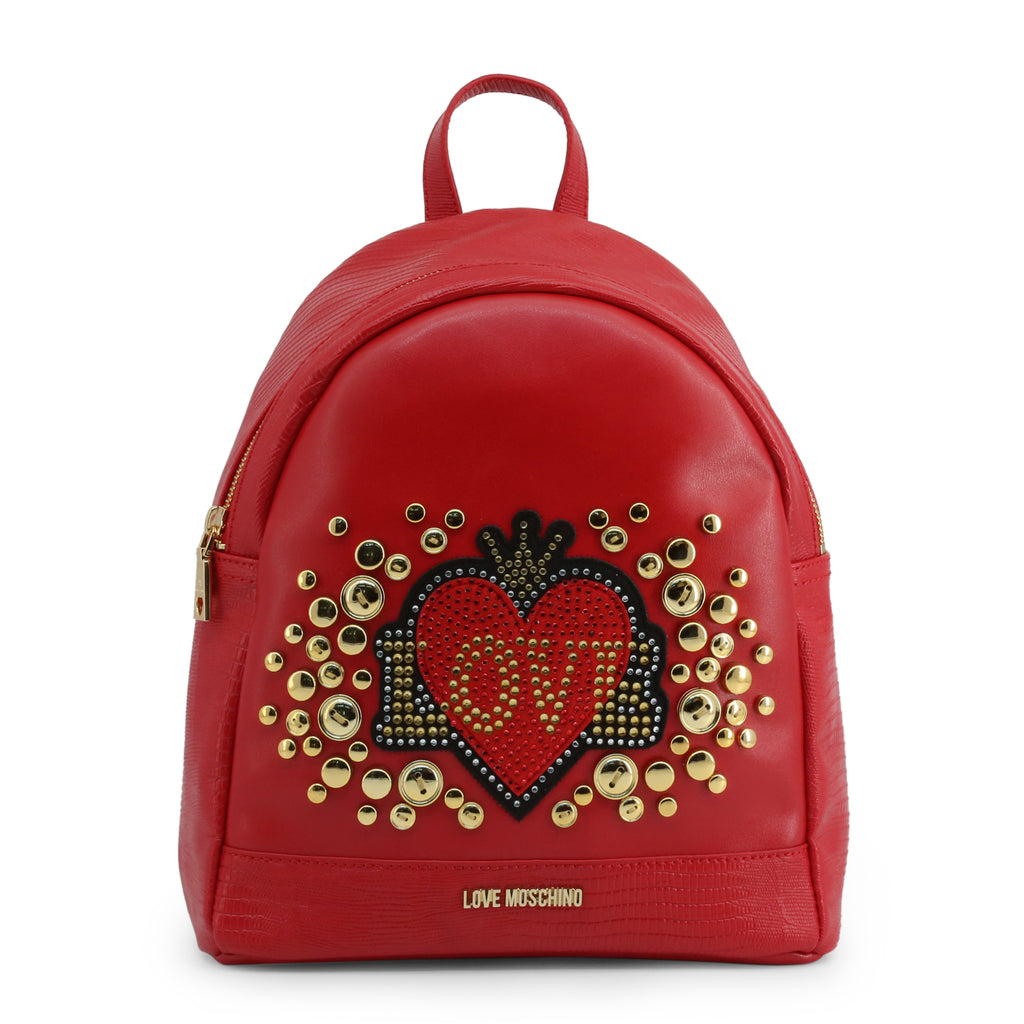 Bags Rucksacks-Love Moschino- Designer Backpack for Woman-Ideo Q