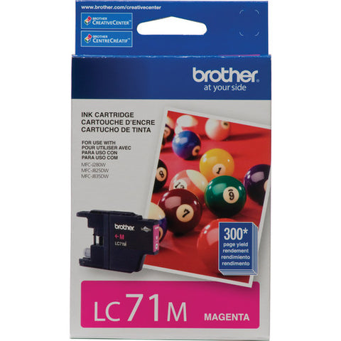 Brother LC71M Standard Yield Magenta Ink