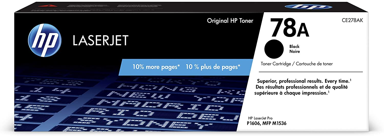 HP 78A, CE278A Toner Cartridge (Black)