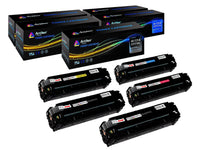 Arthur Imaging Compatible Toner Cartridge Replacement for HP 131A CF210A, CF211A, CF212A, CF213A (2 Black, 1 Cyan, 1 Yellow, 1 Magenta, 5-Pack)