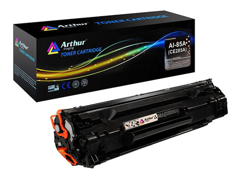 Arthur Imaging Compatible Toner Cartridge Replacement for HP CE285A (HP 85A) (Black, 1-Pack)