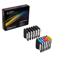 Arthur Imaging Compatible Ink Cartridge Replacement for Brother LC-103XL (6 Black, 2 Cyan, 2 Yellow, 2 Magenta, 12-Pack)