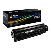 Arthur Imaging Compatible Toner Cartridge Replacement for Canon 137 (9435B001AA) (Black, 1-Pack)