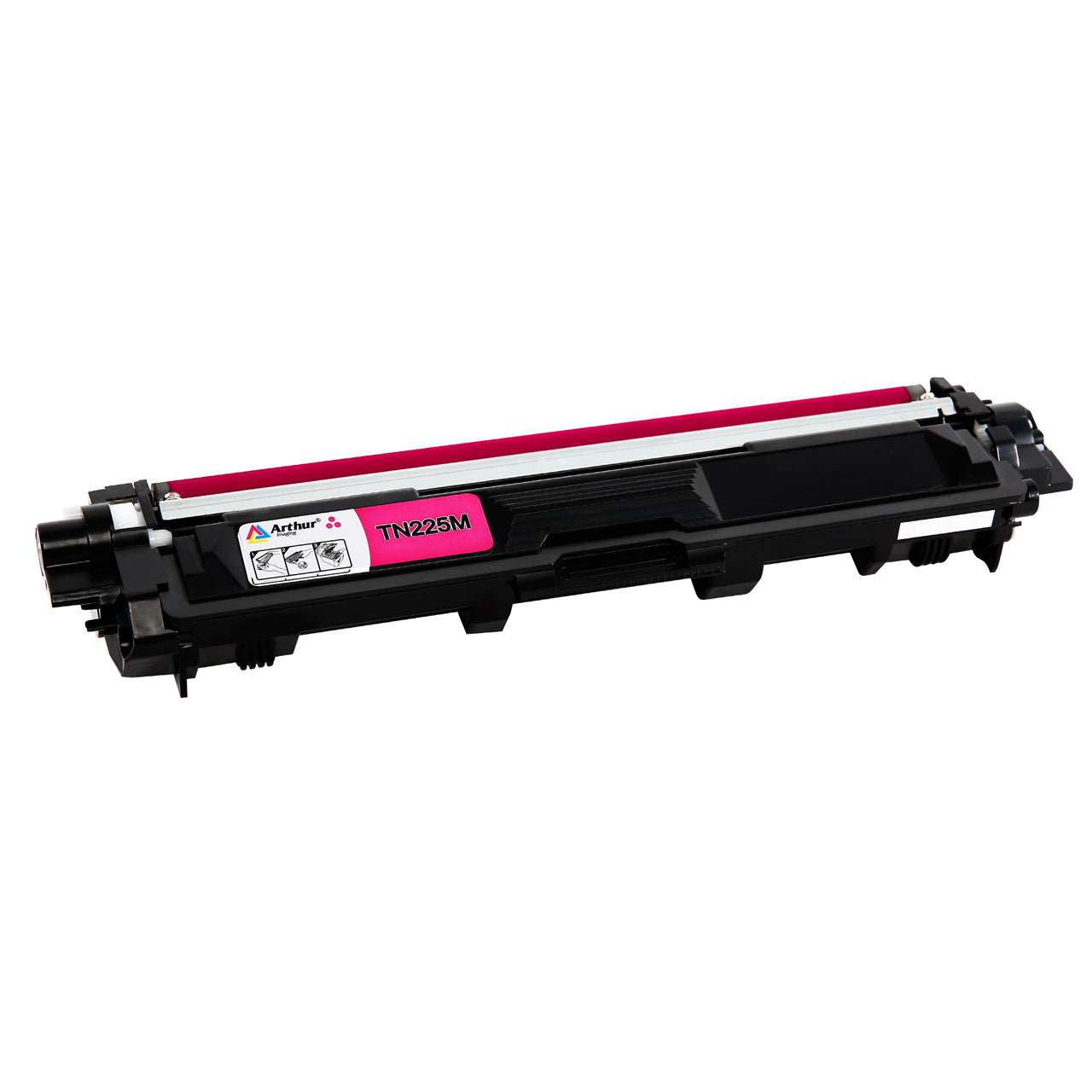 Arthur Imaging Compatible Toner Cartridge Replacement for Brother TN225 (Magenta, 1-Pack)