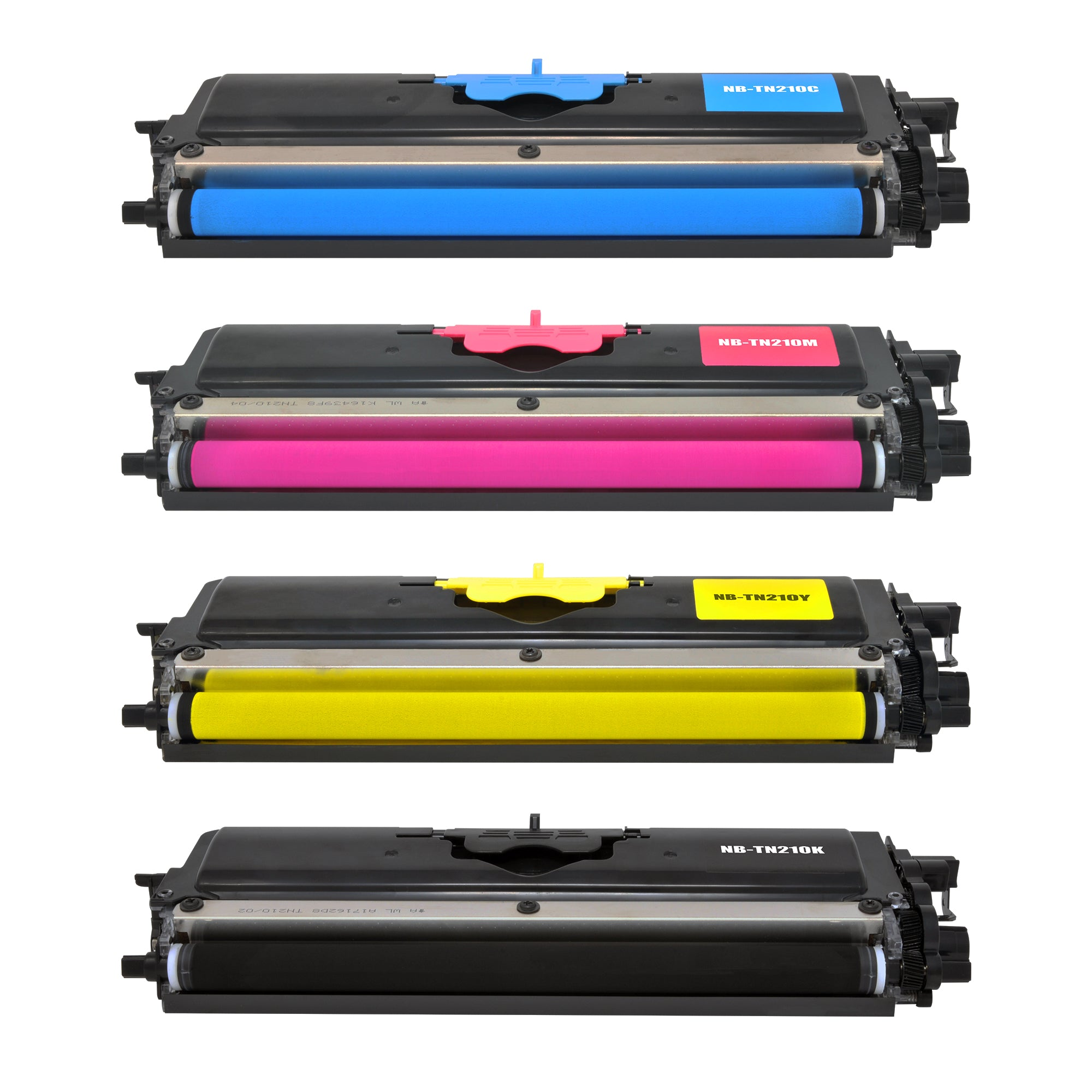 Arthur Imaging Compatible Toner Cartridge Replacement for Brother TN210 (1 Black, 1 Cyan, 1 Magenta, 1 Yellow, 4-Pack)