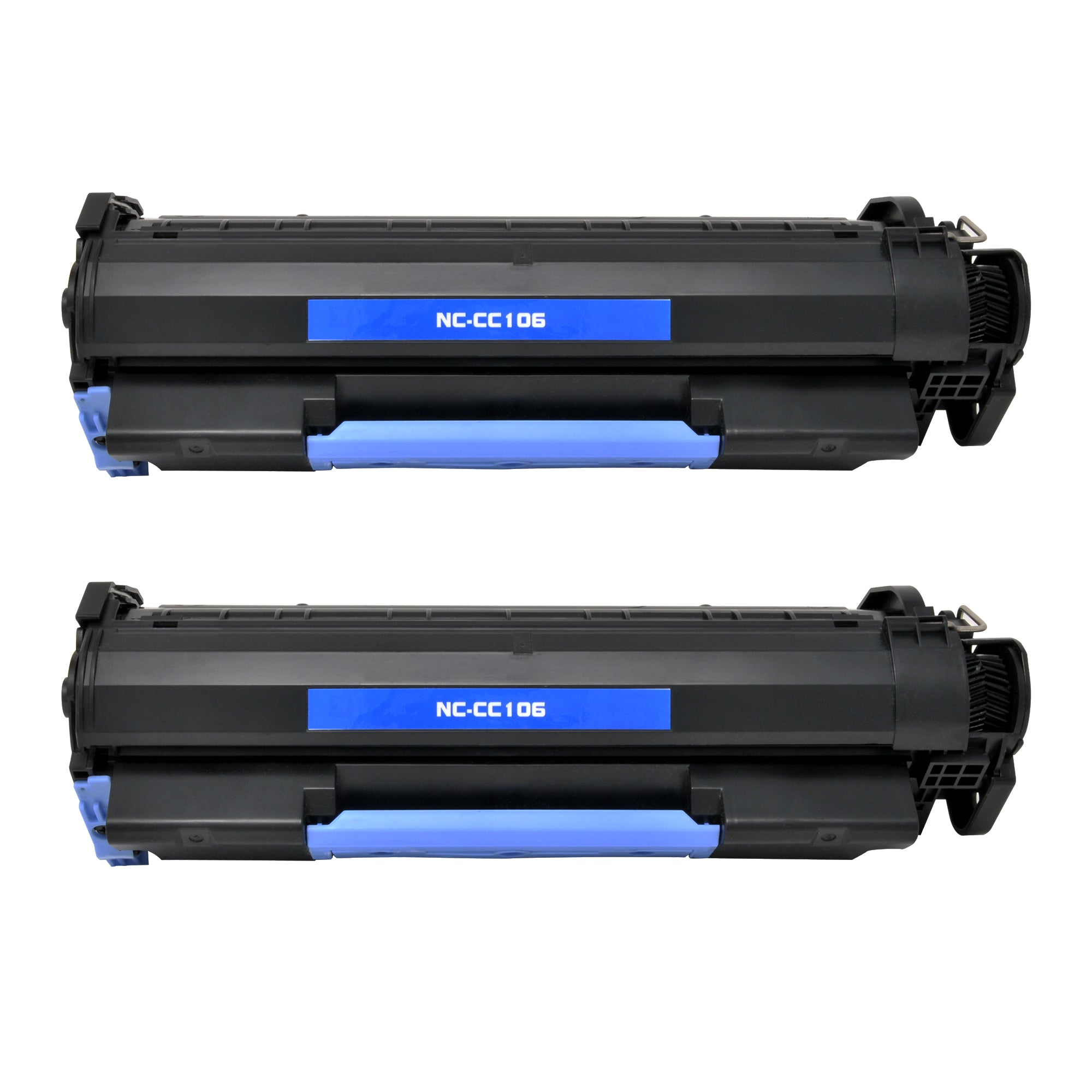 Arthur Imaging Compatible Toner Cartridge Replacement for Canon 106, 0264B001AA (Black, 2-Pack)