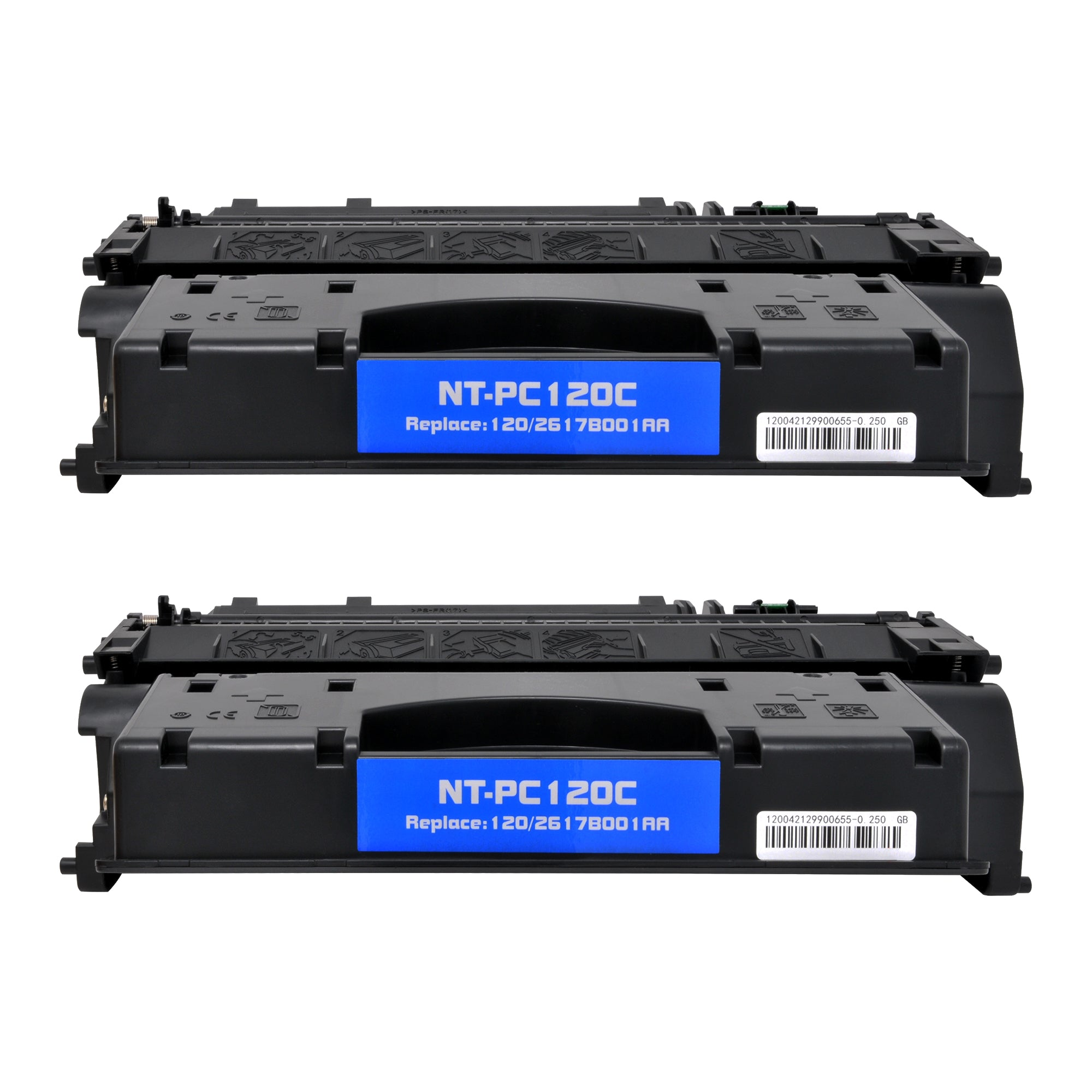 Arthur Imaging Compatible Toner Cartridge Replacement for Canon 120, 2617B001AA (Black, 2-Pack)