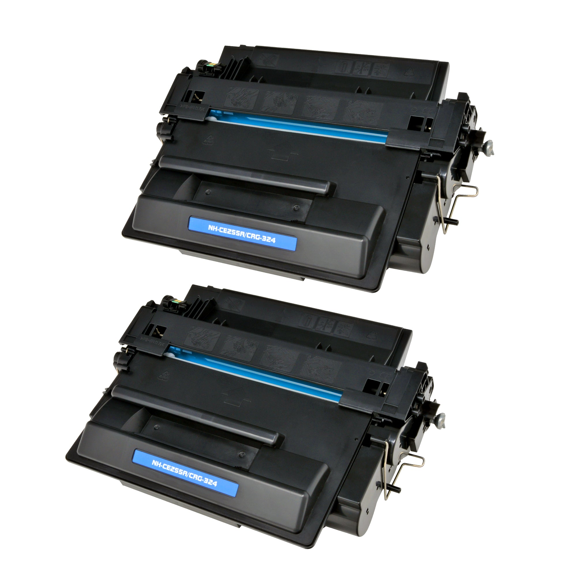 Arthur Imaging Compatible Toner Cartridge Replacement for HP CE255A (HP 55A, 2 Black, 2-Pack)