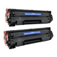 Arthur Imaging Compatible Toner Cartridge Replacement for HP CE285A (HP 85A, 2 Black, 2-Pack)