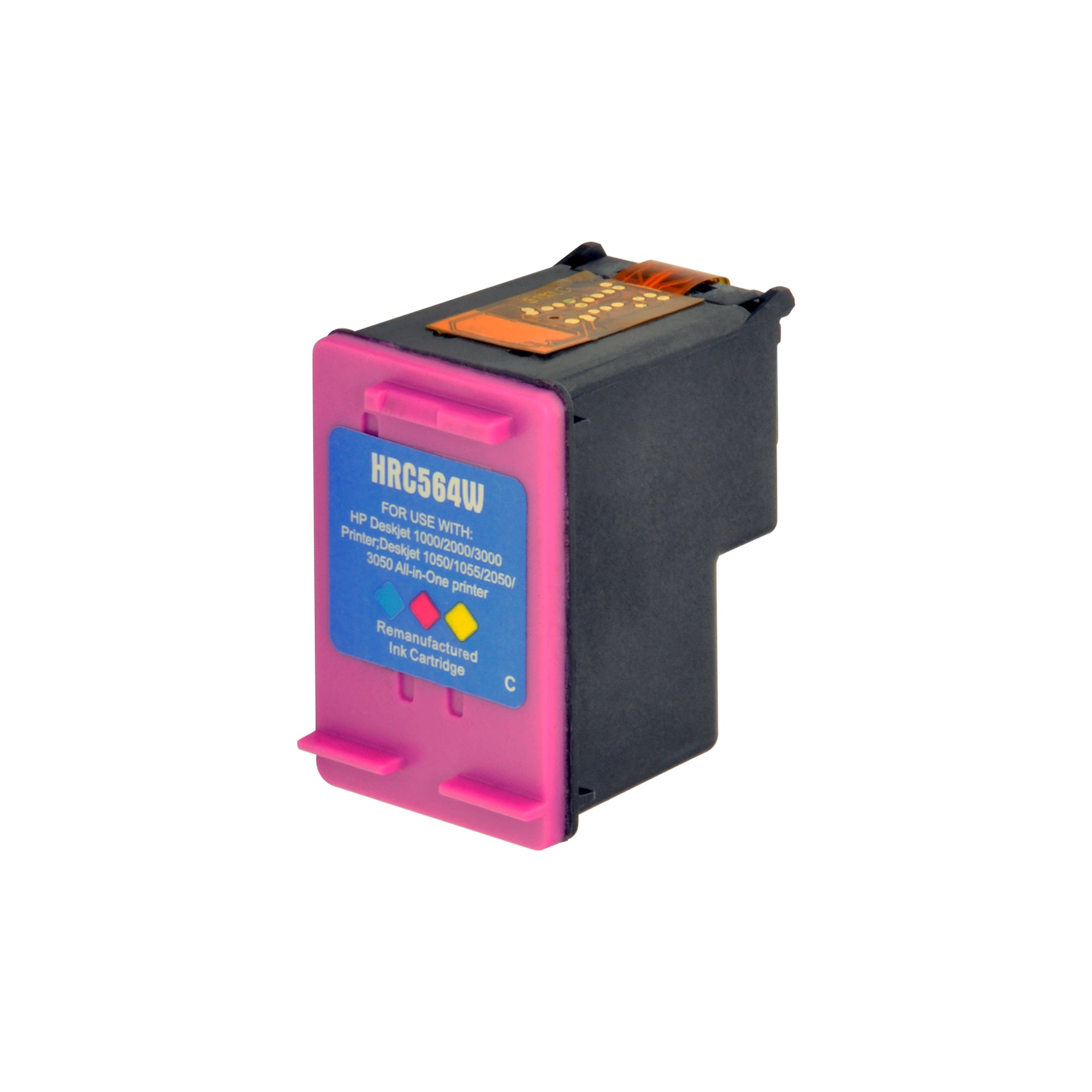 Arthur Imaging Remanufactured Ink Cartridge Replacement for HP 61XL (1 Black, 1 Tri-Color, 2-Pack)