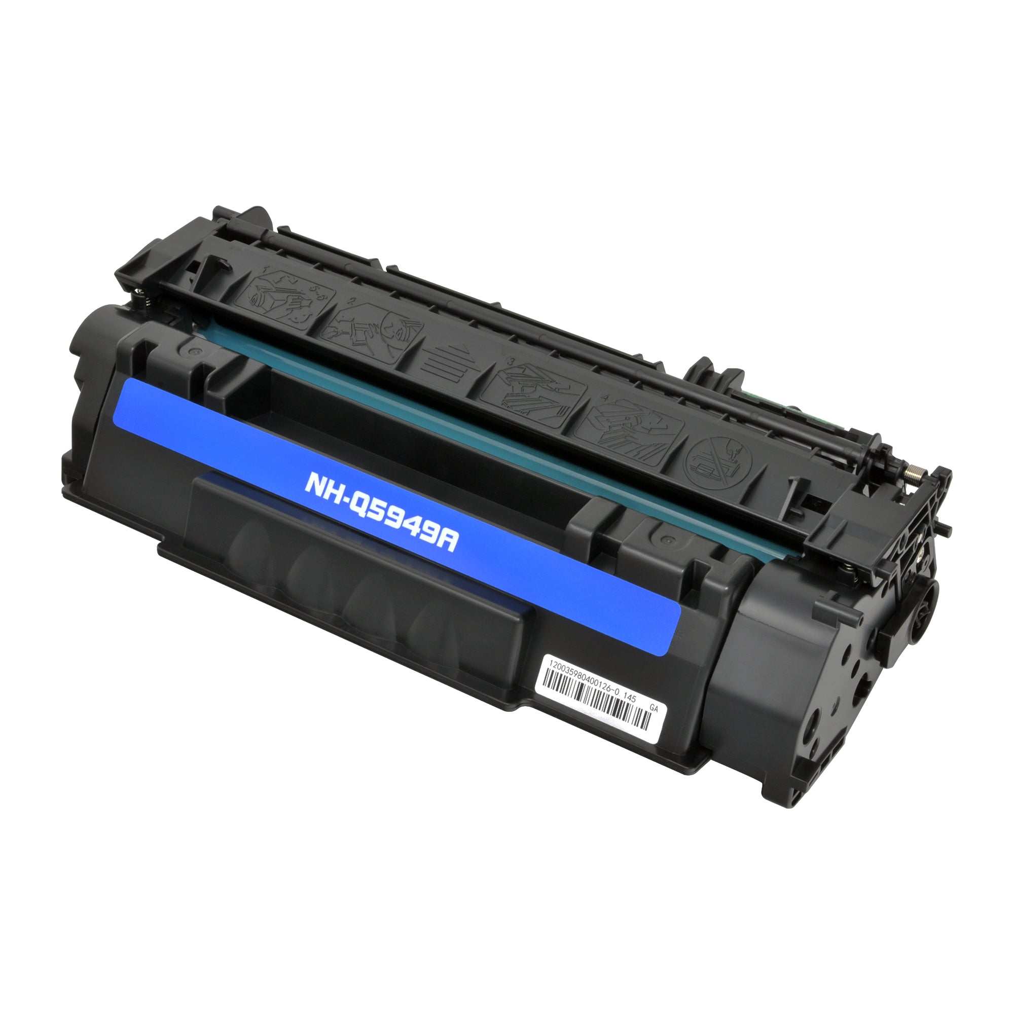 Arthur Imaging Compatible Toner Cartridge Replacement for HP Q5949A (HP 49A, Black, 1-Pack)